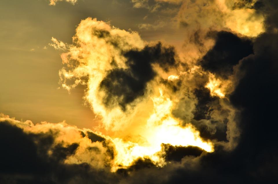 Clouds, Sky, Sun, Cloudy, Sky Clouds, Skyscape, Clouded