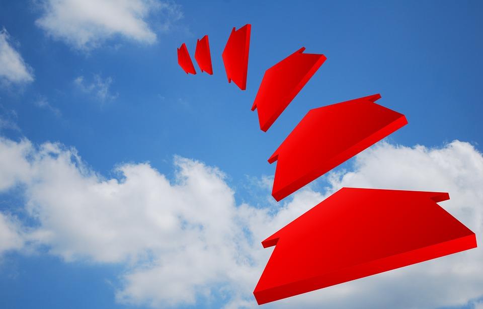Air, Arrow, Chart, Clouds, Depth, Direction, Distance
