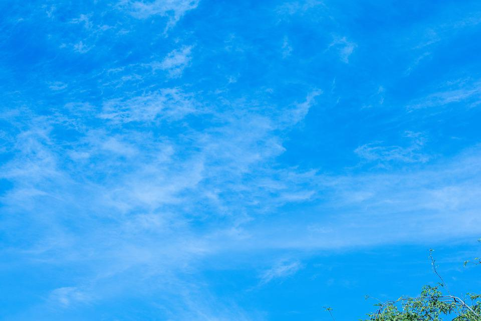 Sky, Clouds, Atmosphere, Blue Sky, White Clouds