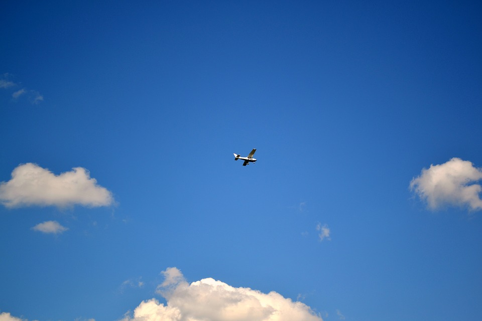 Sky, The Plane, Aviation, Flying, Travel, Clouds