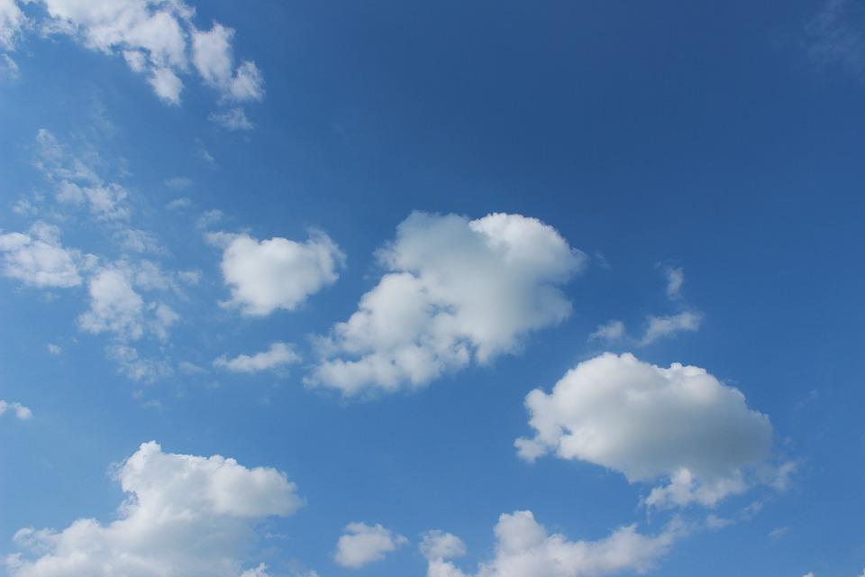 Blue Sky, Clouds, Clear