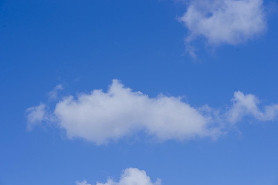 Cloud, Nature, Blue, White, Sky, High, Clouds