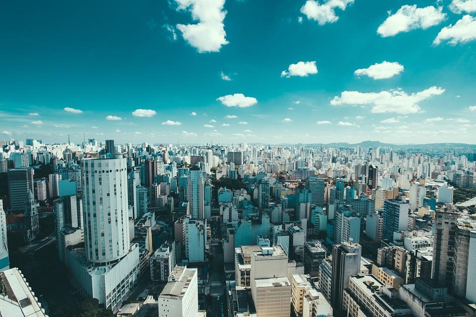 Brazil, Buildings, City, Cityscape, Clouds, Sao Paulo