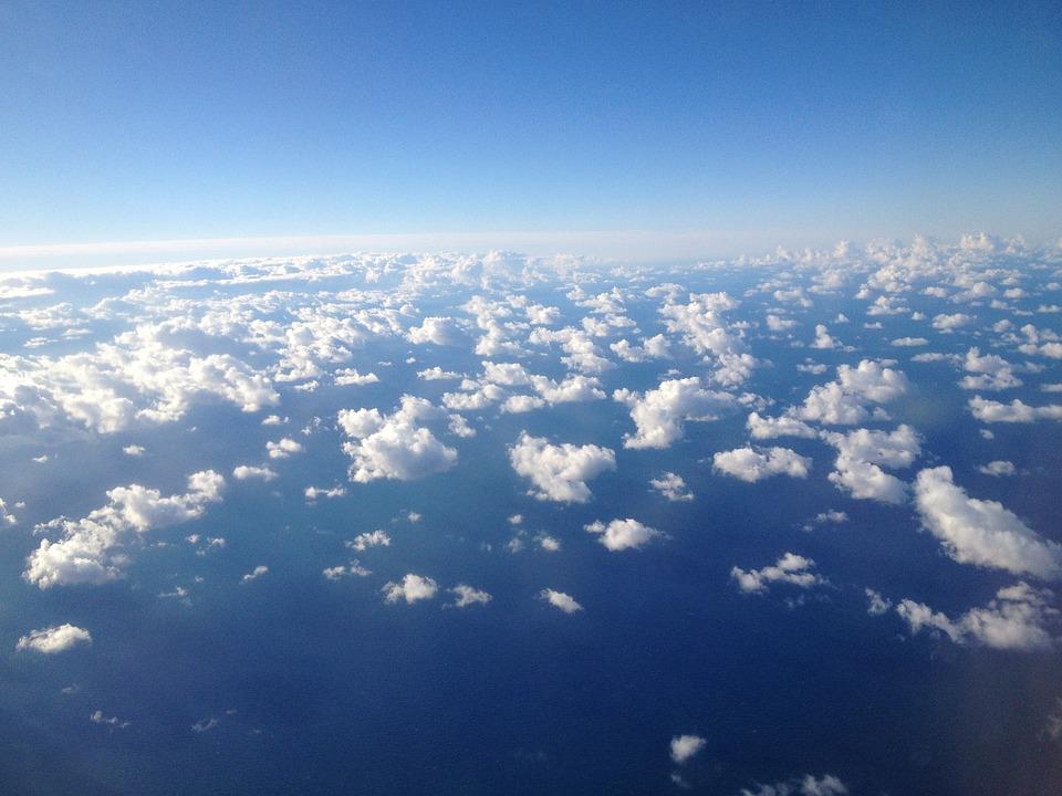 Clouds, Sky, Cloudscape, Cumulus, Fluffy, Bright