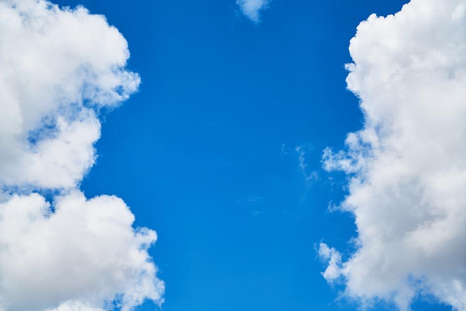 Cloud, Blue, Composition, Unbelievable, Sky, Clouds