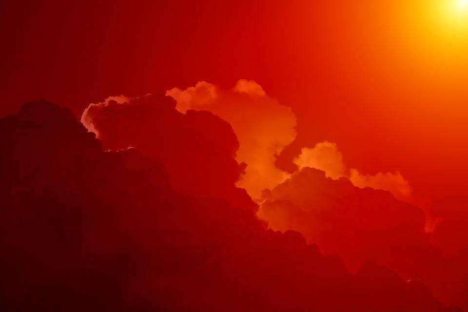 Sky, Clouds, Clouds Form, Cumulus Clouds, Beautiful