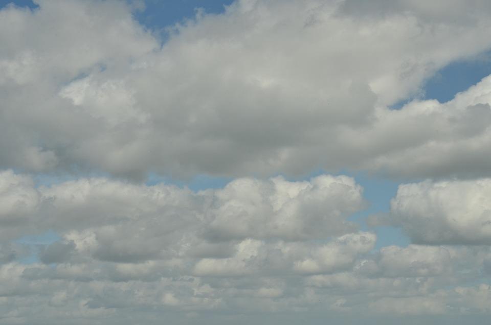 Air, Clouds, Cumulus, Cumulus Clouds, Wind, White, Grey