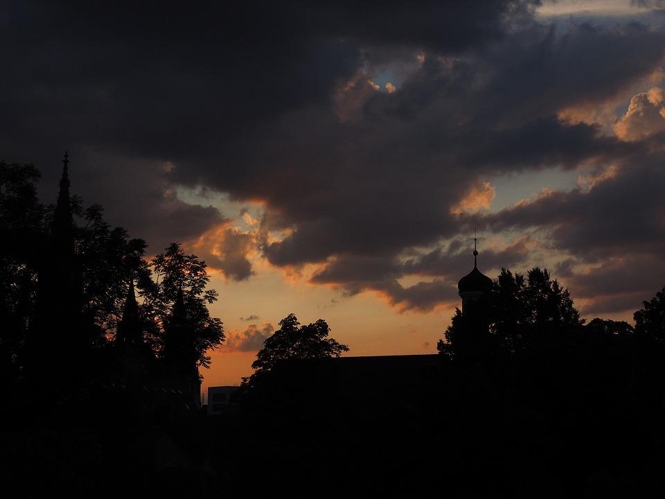 Gloomy, Clouds, Dark Clouds, Gewitterstimmung
