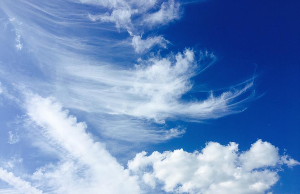 Sky, Cloud, Blue, Clouds Form, Front Detail, Sunset