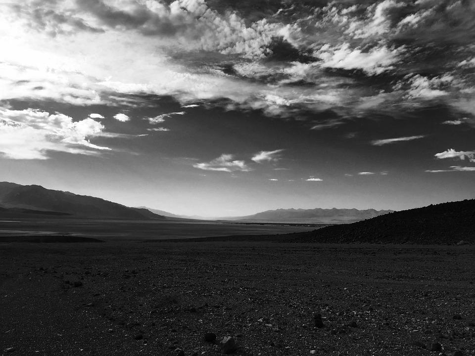 Death-valley, Usa, Desert, Landscape, Clouds, Cloud