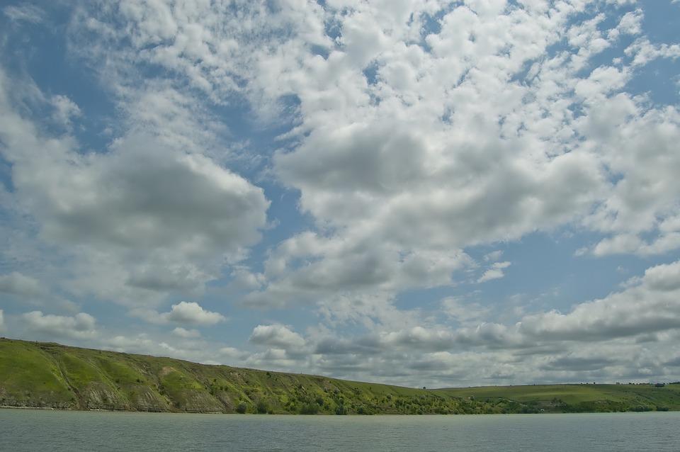 Landscape, Nature, River, Sky, Clouds