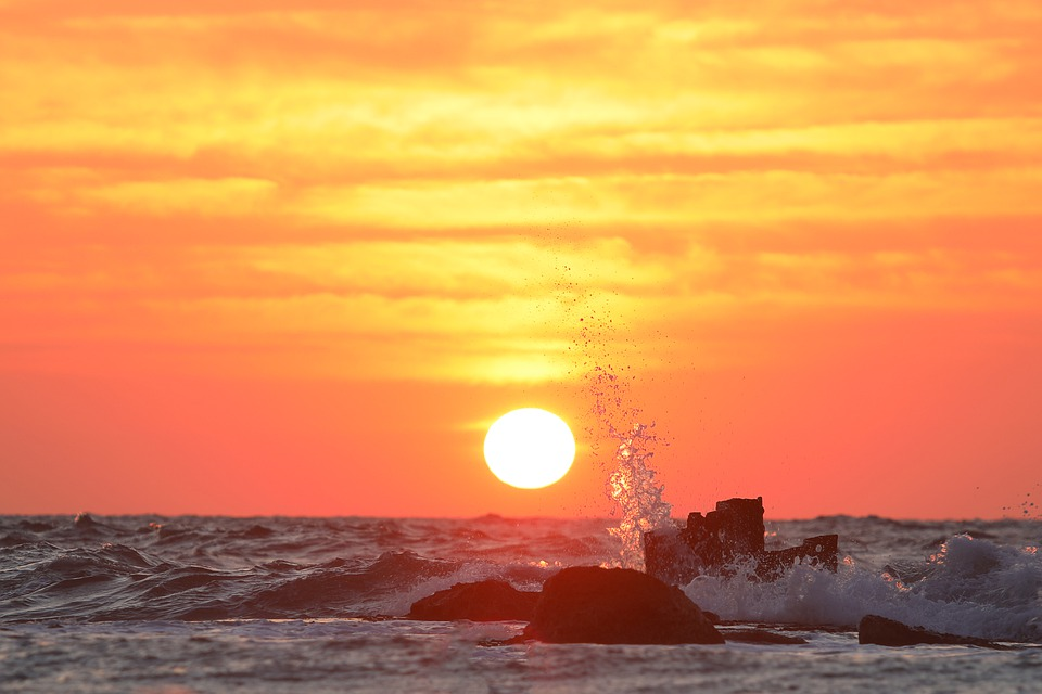 Sky, Blue, Clouds, Nature, Landscape, Sunset, Morning