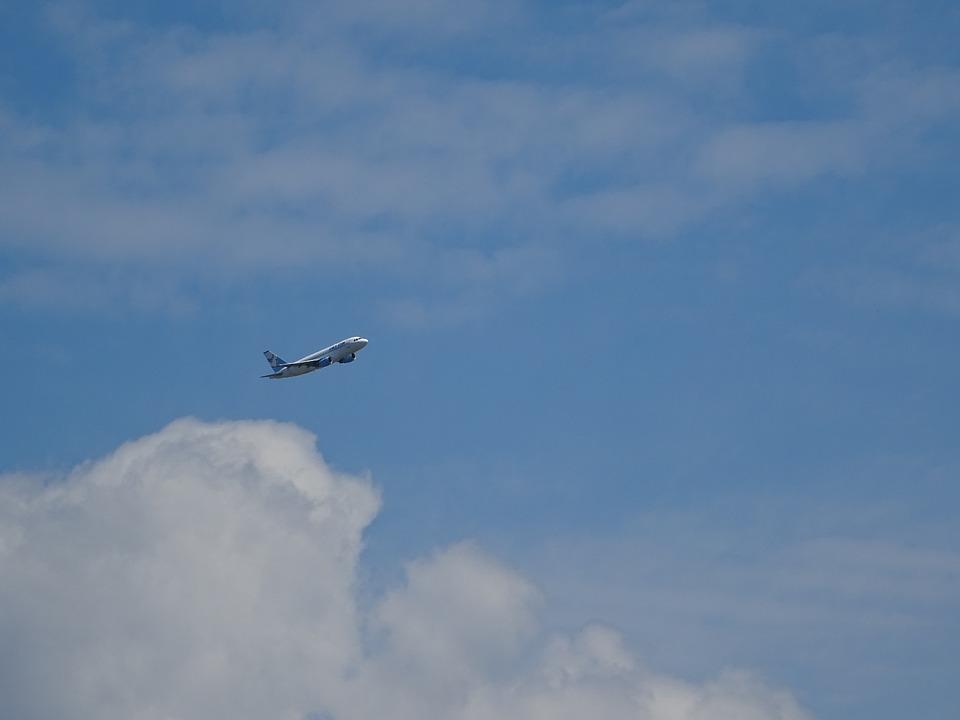 Aircraft, Sky, Clouds, On The Cloud, Passenger Aircraft