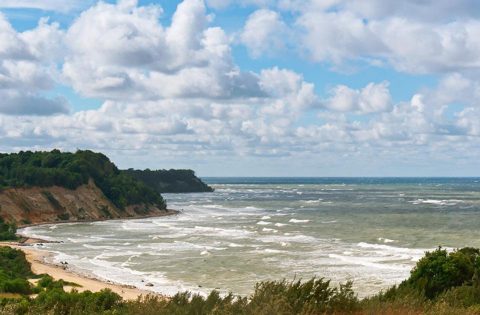 Sea, Stormy, Storm, Ocean, Bay, Rough, Clouds, Natural