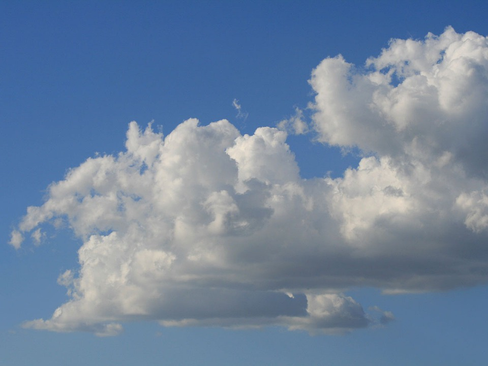 Clouds, Cumulus, White, Sky, Tucson, Arizona, Weather