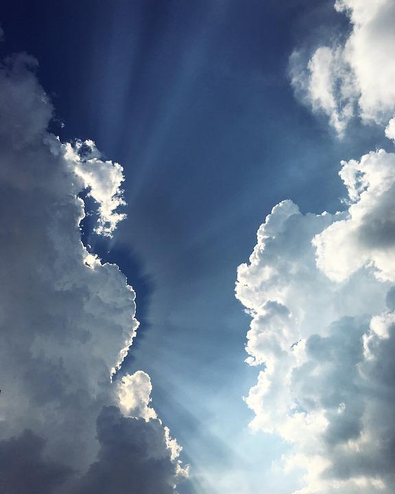 Sky, Clouds, Landscape, Summer, Blue, Sun, Good Weather