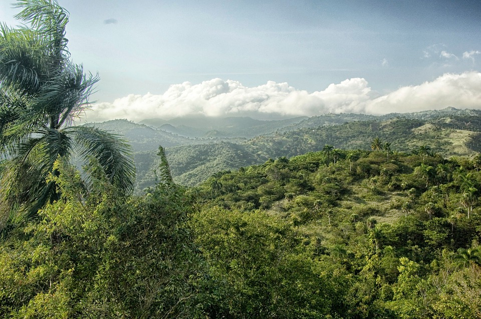 Dominican Republic, Landscape, Scenic, Sky, Clouds