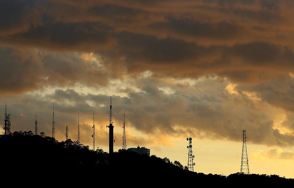 Clouds, Sol, Mountain, Landscape, Twilight, Sky