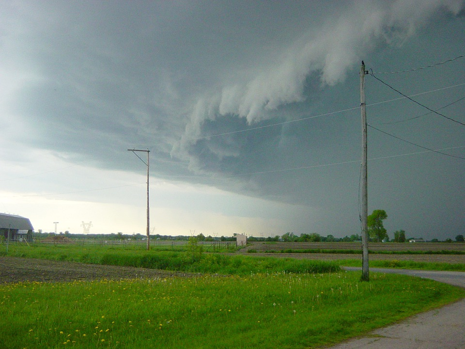 Storm, Weather, Ominous, Clouds, Dark, Sky, Approaching