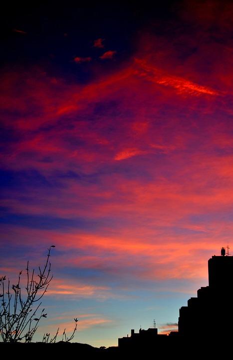 Sunrise, Storm, Clouds, Daybreak, Sky, Stormy Sky