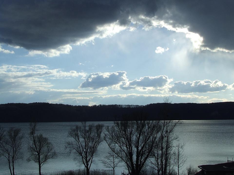 Sun, Clouds, Mood, Sunbeam