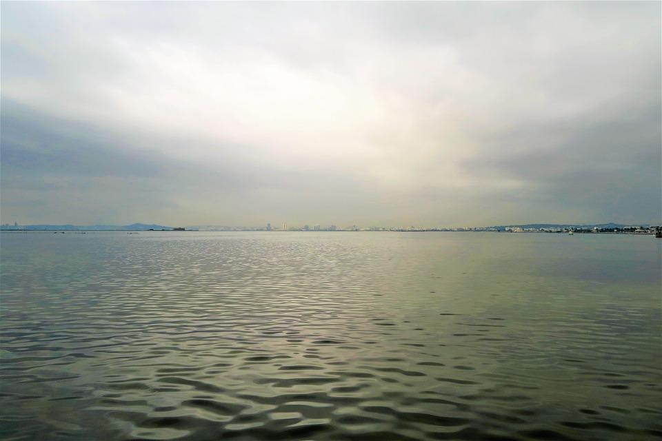 Marine, Sky, Clouds, Beach, Nature, Travel, Reflection