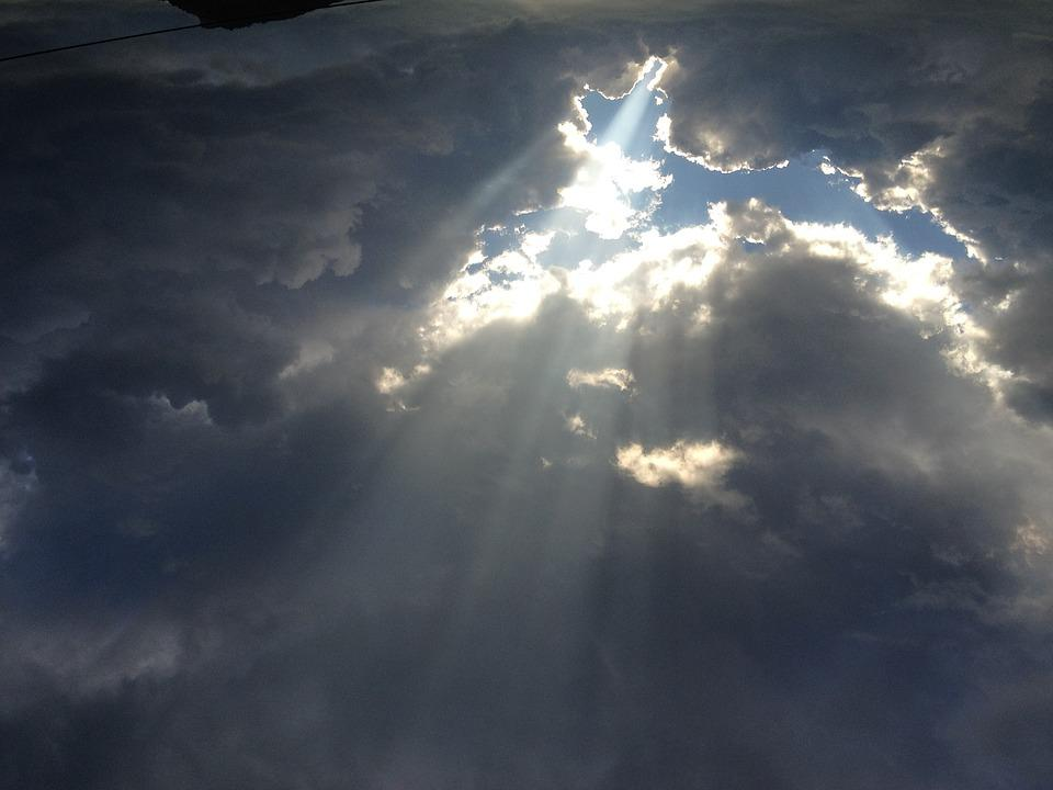Clouds, Blue Sky, Hope, Anxiety, Inspiration, Truth