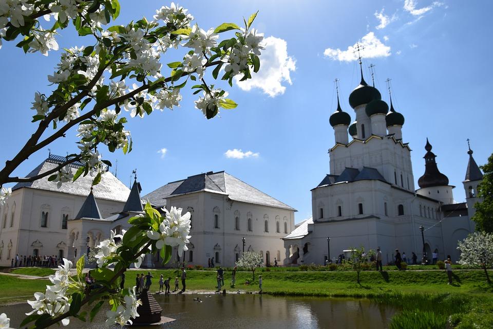 Church, Sky, Dome, Clouds, Old, Vera, Landscape, Cross