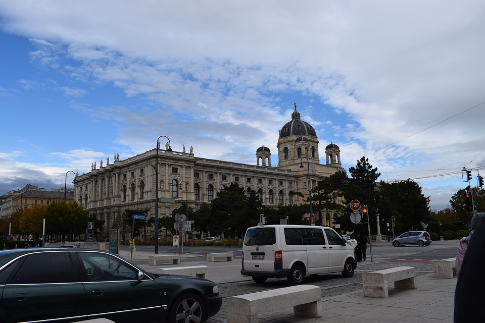 Museum, Vienna, Building, Clouds