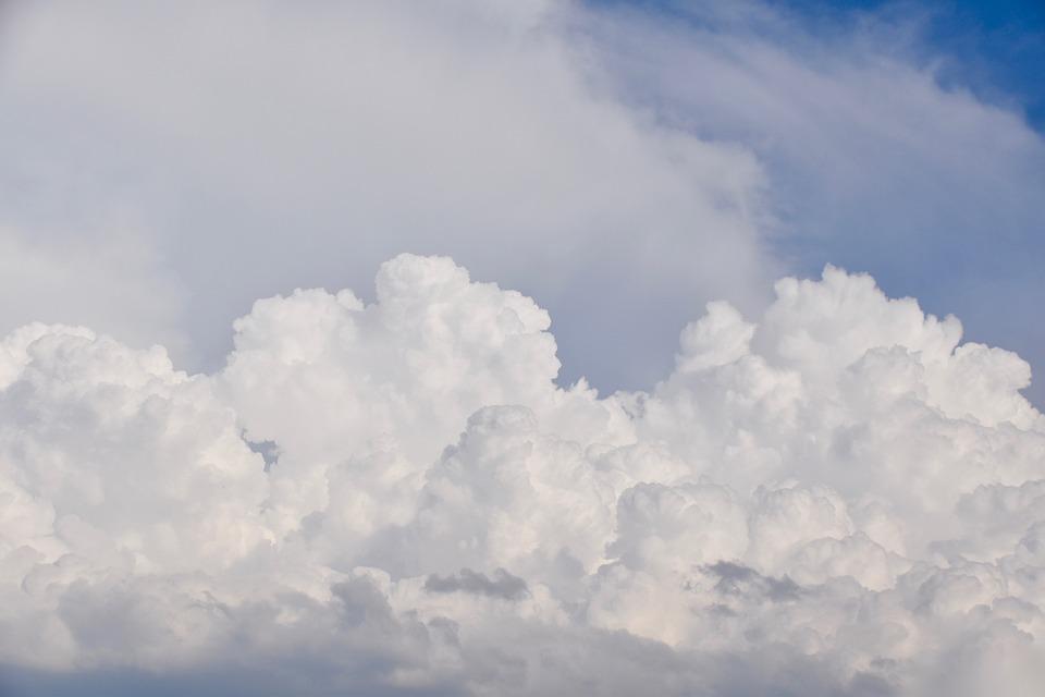 Clouds, Cumulus, Cloudy, Sky, Air, Atmosphere, Weather