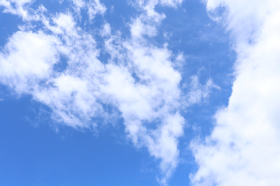 Sky, Cloudy, Air, Weather, Nature, Atmosphere, Blue