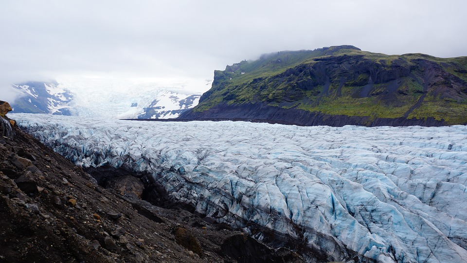 Cloudy, Cold, Freezing, Frozen, Glacier, Ice, Landscape