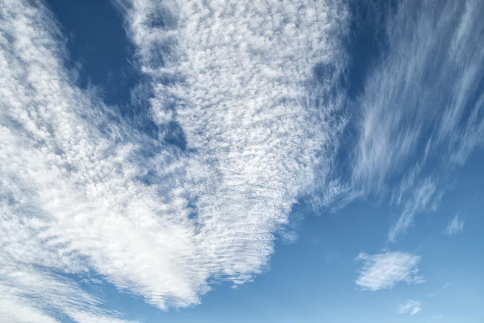 Sky, Clouds, Cirrocumulus, Cloudy, Atmosphere, Blue Sky