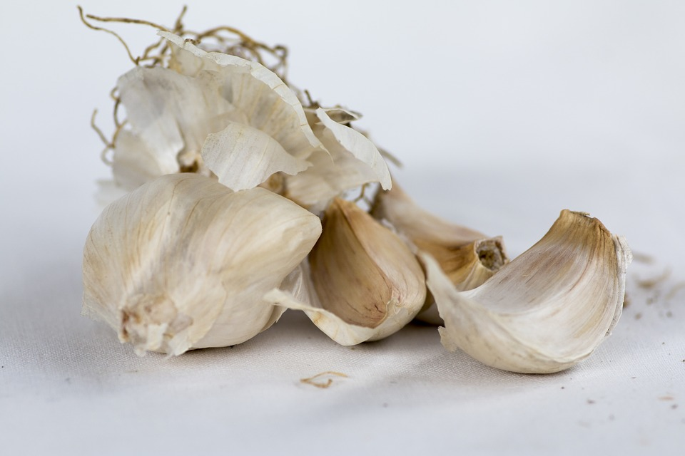 Garlic, Cloves Of Garlic, Condiment, Kitchen, Vegetable