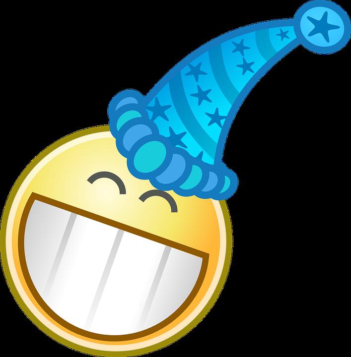 Smiling, Celebration, Clown, Happy, Hat, Party