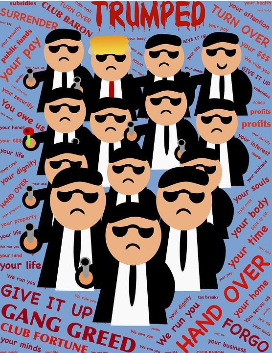Trump, Trumped, Gang, Club, Greed, Barons, Tycoons