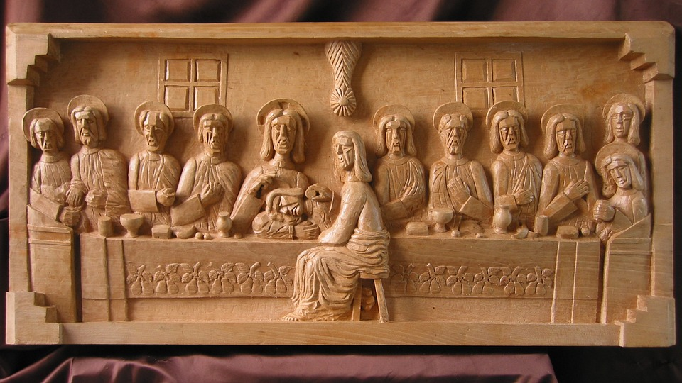 Carving, Router, Cnc, Carved, Wood, Art, Bible, History