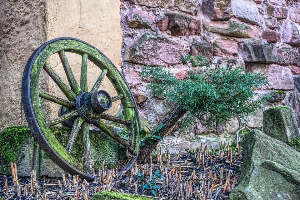 Wagon Wheel, Old, Wheel, Wood, Wooden Wheel, Coach