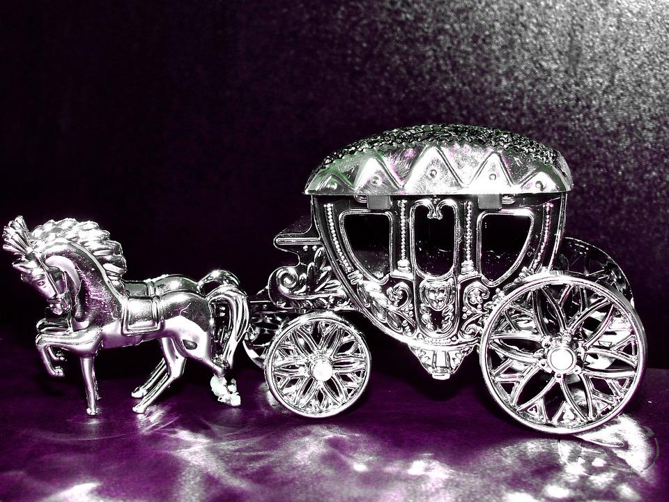 Silver, Coach, Silver Wedding Anniversary, Antique