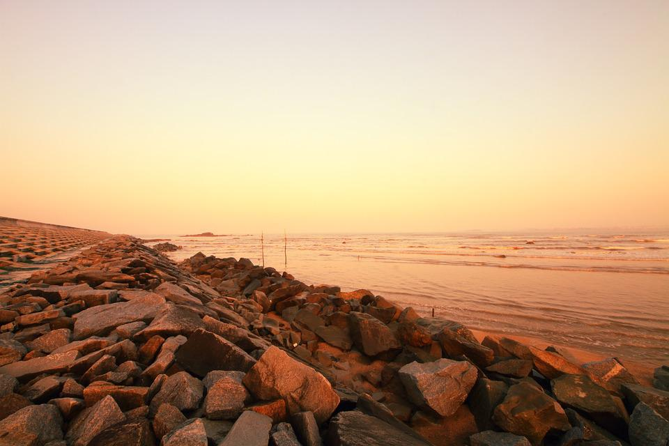 Coast, Beach, Moisture Provide