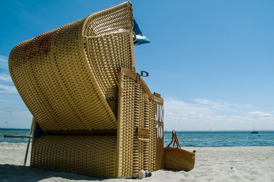 Beach Chair, Lake, Beach, Sea, Clubs, Coast, Sand, Sky