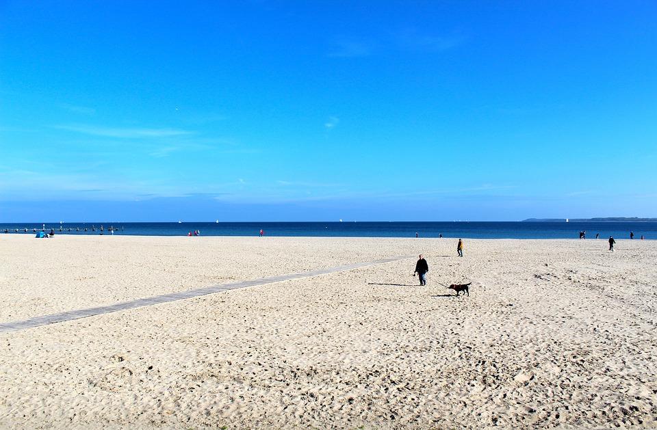 Travemünde, Beach, Sea, Baltic Sea, Coast, Water