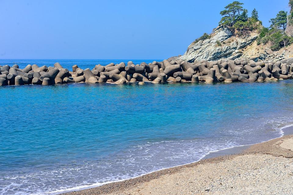 Waters, Sea, Beach, Coast, Natural, Sky, Wave