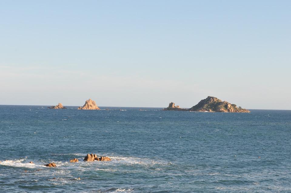 Sardinia, Coast, By The Sea