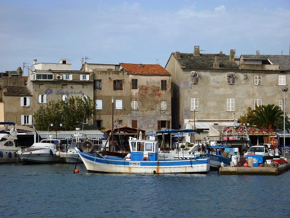 Corsica, Coast, Coastal Road, France, Lee St, Sea