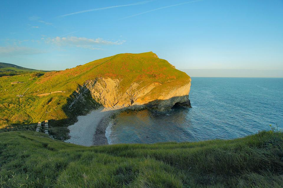 Lagoon, Coast, Reefs, Dorset, Ocean, England
