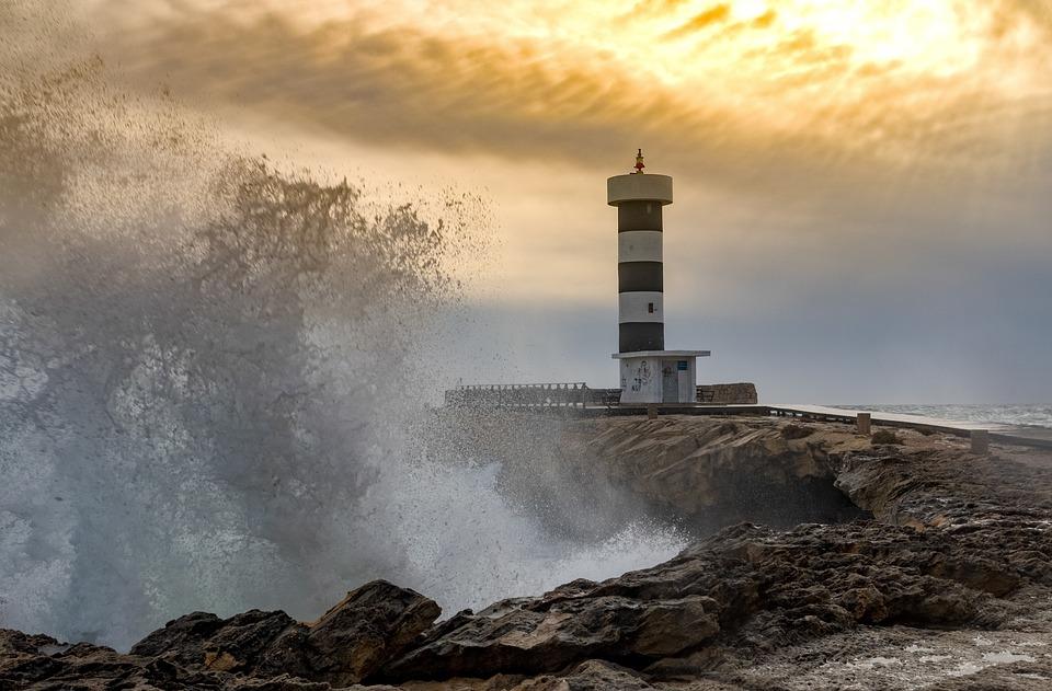 Mallorca, Colonia Sant Jordi, Lighthouse, Waters, Coast