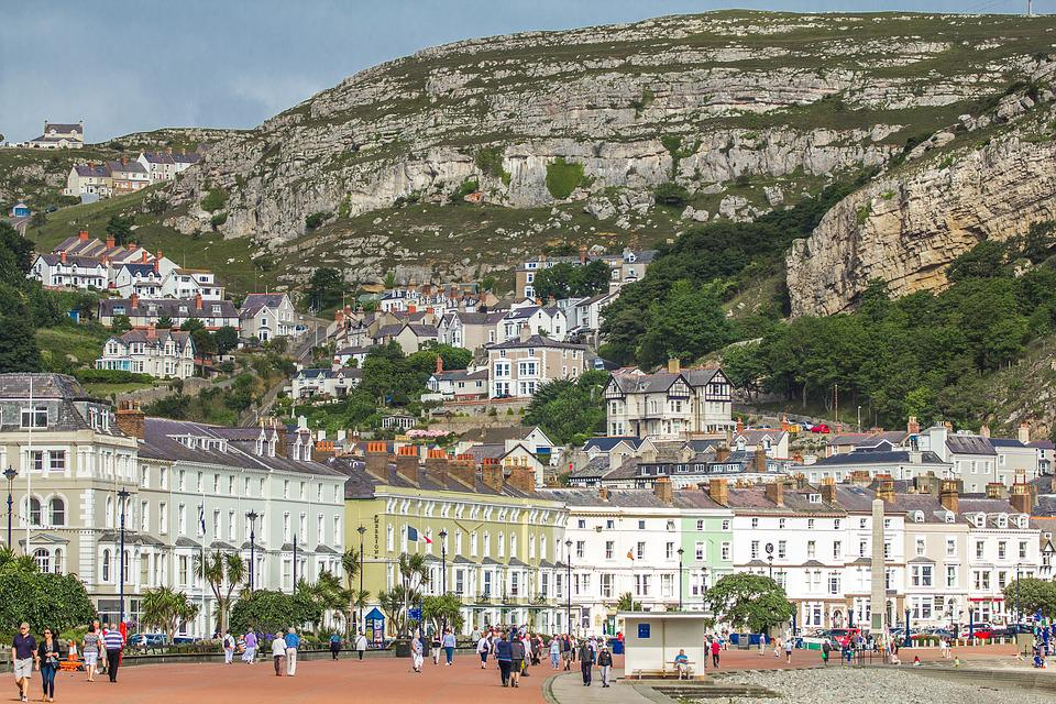 City, Rocks, Wales, Llandudno, Coast