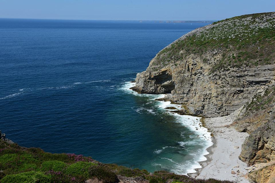 Coast, Brittany, Sea, Atlantic, Ocean, Beach, Nature