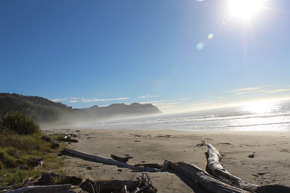 New Zealand, Beach, Coast, Sunrise, Beautiful Morning